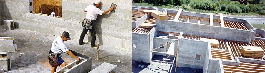 Concrete House Compounds : Icf blocks insulated concrete forms compound rastra