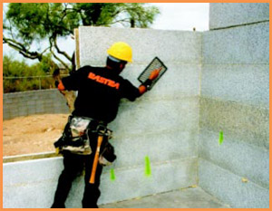 Icf Blocks Insulated Concrete Forms Compound Icf Rastra