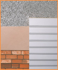 Icf blocks insulated concrete forms compound icf rastra - Exterior concrete block finishes ...